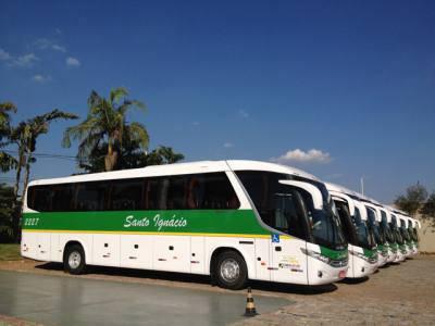 Fretamento de ônibus São Pedro