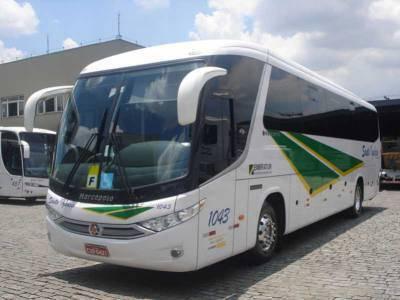 Fretamento de ônibus Serra Negra